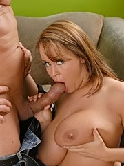 Big titted brunette and her sexy girlfriend licking