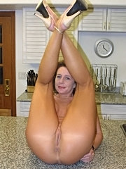 Cheryl gets to show off her tempting clit