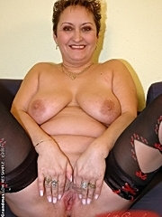 Horny fatty granny is fucking hard with young guy