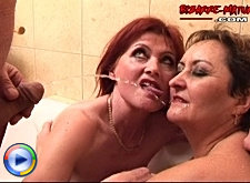 Mature sluts in the most kinky way possible