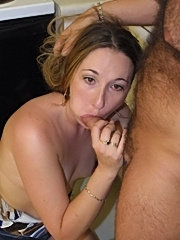 Blake takes on a dick and gets mouth fucked