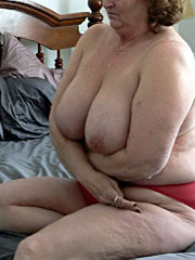 Amateur bbw strips showing her big tits then rides his cock