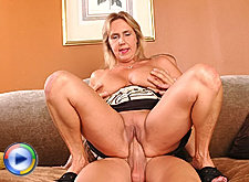 Wanda sends a monster size cock into orgasm
