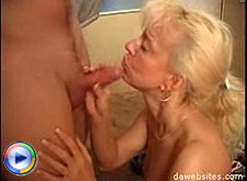 Real horny milf seduces her son's friend and fucks him silly
