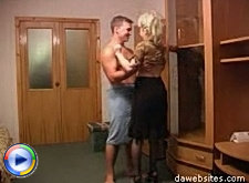 Lucky young chap gets his best friend's mom ass to fuck around with