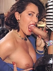 French eighties lady fucked in all her holes