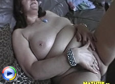 Mature big titted slut playing with herself