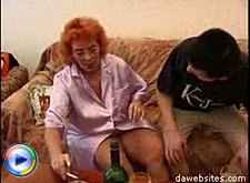 Horny mature pussy gets down and dirty with a fresh piece of man meat