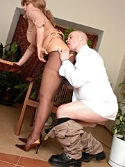 Elisabeth&john pantyhosefucking pretty mature woman