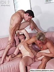 Mature lady likes young men