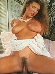 Big titted retro lady fucked and facialised