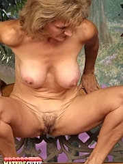 Hot granny licking huge rod