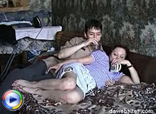 Just a thought about his friend's mom makes his cock hard and the older woman is greatly impressed by that