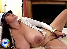 Big titted chubby amateur martina sucking cock and licking balls