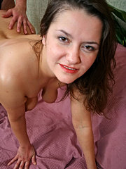 Mom likes huge strapon in boy's ass