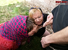 Slut getting pinned two ways