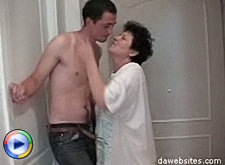 Young fucker gives a horny mature housewife some hardcore fucking