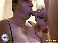 Ugly betty takes the cock deep down