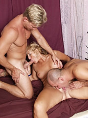 Nasty tempting old milf
