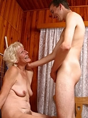 Wench gets her ass licked by step mom