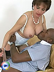 Milf and a black stud
