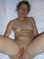 Blonde leslickers licking and dildo fucking on bed