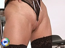 Merilyn has a little fun with some sexy lingerie