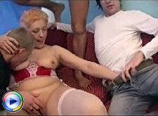 Milf nicole takes part in a brutal cluster again