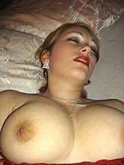 Soft warm and cuddly big tits mature plump amateur
