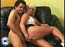Busty granny getting shafted long and hard