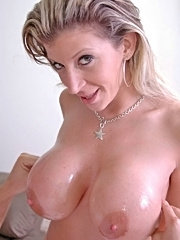 Huge titted milf sara jay fucks young stud