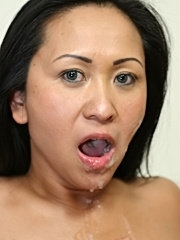 Hot asian milf gets totally fucked