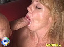 This mature honey loves a good hard cock