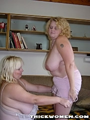 Bbw holding her huge fat tits chubby pussy licked