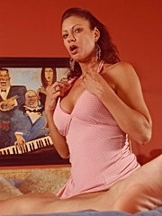 Horny thick ass milf vanessa rides a thick nasty cock