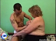 Fat horny mom gets a hardcore fucking ride from a young stud