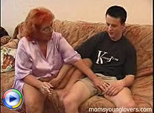 Cute guy gets a chance to fuck a former hooker granny