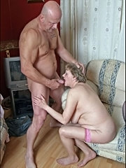 Two old grannies getting it hard