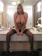 Milf getting ready to go out
