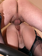 Wild hot mature pussy licking action