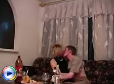 Son�s friend fucks the old mature and stuffs her with a big strong dick