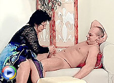 Huge fat tits fatty licked and chubby pussy toyed