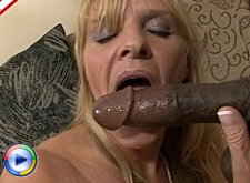 See her enjoy that big rock hard ebony cock
