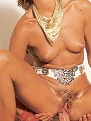 Hairy lady fucking a well hung seventies stud