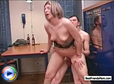 A drink with friend's mom leads to forbidden passion if she is a real milf and still sexy as hell