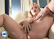 Older milf renata moans as her tight asshole is being ravished by a cock