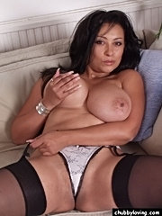Mature fatty getting fucked like back in the good old days and taking a cumshot on her big tits