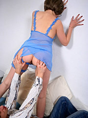 Mature redhead mom loves cock and sperm