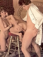 Artist fucking two of his seventies models